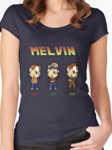BTTF Melvin Women's Fitted Scoop T-Shirt