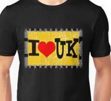 I love United Kingdom Unisex T-Shirt