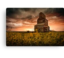 Death of the Wheat Pool Canvas Print