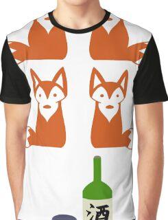 Four Fox Sake Graphic T-Shirt