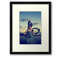 Antoinette On the Water Framed Print