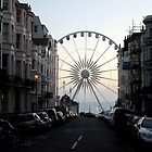 The Brighton Wheel Emerges  by rsangsterkelly