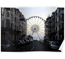 The Brighton Wheel Emerges  Poster