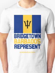 Bridgetown Barbados Represent T-Shirt
