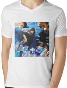 Seabeds Mens V-Neck T-Shirt