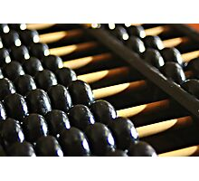 Chinese Abacus Photographic Print