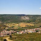 Fertile arena, Nogueruelas, Maestrazgo, Aragon, Spain by Andrew Jones