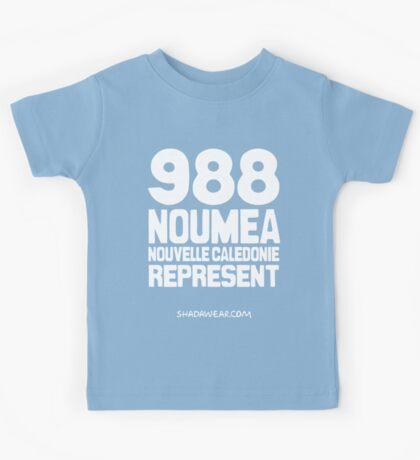 988 Nouméa Nouvelle-Calédonie Represent Kids Tee