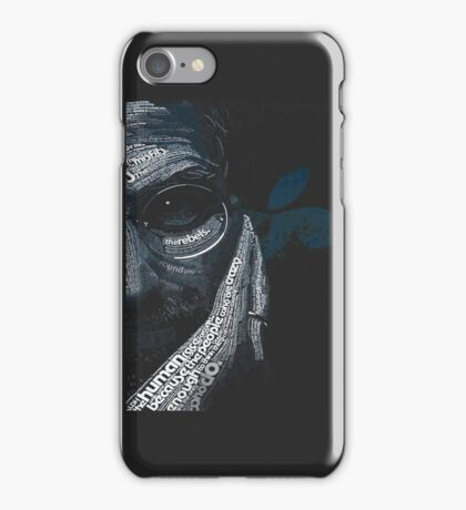 steve jobs 1 iPhone Case/Skin