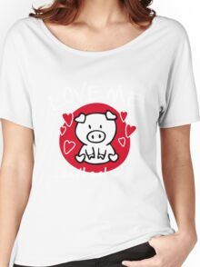 Love me, don't eat me Women's Relaxed Fit T-Shirt
