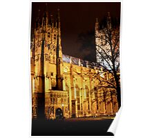 Christchurch Cathedral, Canterbury Poster