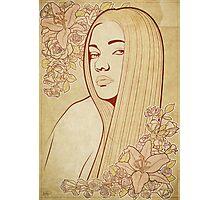 Art Nouveau Portrait Photographic Print