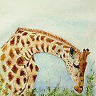 Giraffe by Nirsha