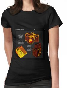 Analogue Womens Fitted T-Shirt