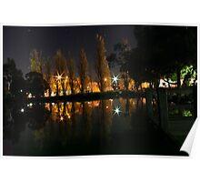 lake at night Poster