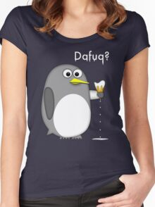 Dafuq? Women's Fitted Scoop T-Shirt