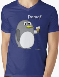 Dafuq? Mens V-Neck T-Shirt