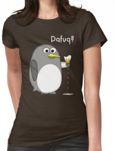 Dafuq? Womens Fitted T-Shirt