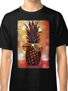 Pineapple with Grill Glasses Classic T-Shirt