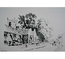 Plague Cottages Photographic Print