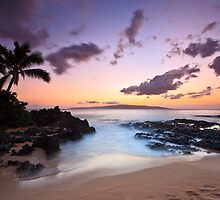 Makena Cove, Maui Sunset by RJames