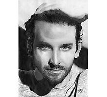 Bradley Cooper portrait Photographic Print