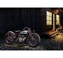 Indian 101 Scout Bobber Photographic Print