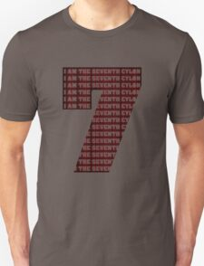 The Seventh Cylon (Now Angry Cylon Red!) T-Shirt