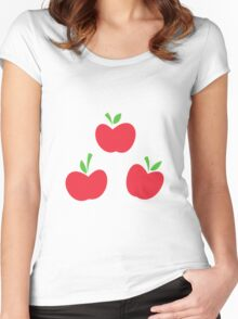 AppleJack Cutie Mark - My Little Pony Friendship is Magic Women's Fitted Scoop T-Shirt