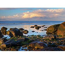 North beach Ardrossan morning Photographic Print