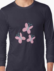 FlutterShy Cutie Mark - My Little Pony Friendship is Magic Long Sleeve T-Shirt