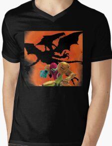 Where's Ridley, Samus?  Mens V-Neck T-Shirt