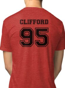 Clifford 95 black ink Tri-blend T-Shirt