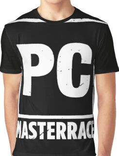 PC Masterrace - Damaged Graphic T-Shirt