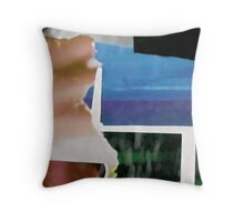 Abstract Collage01 Throw Pillow