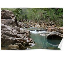 Stony Creek, Byfield - Central Queensland, Australia.  Poster