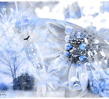 Touch of a blue by Olga