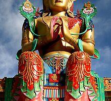 Maitreya Buddha by Ravi Kumar