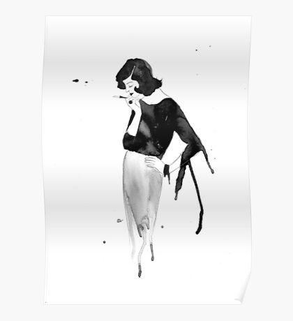 50's Girl Poster