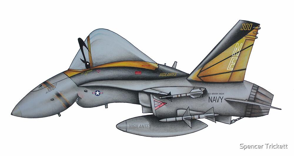 F18 Hornet by Spencer Trickett