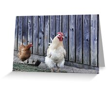 Cluckity Cluck! Greeting Card