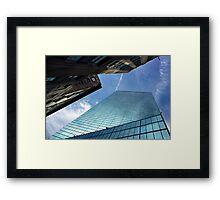 Tethered Framed Print