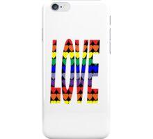 Love Rainbow Hearts iPhone Case/Skin
