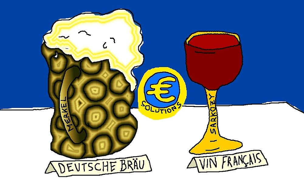 Trying to save the Euro with German Beer and French Wine by Binary-Options
