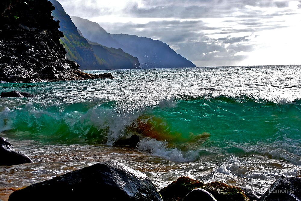 Breaking Coast  by bamorris