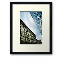 A Cute Angle Framed Print