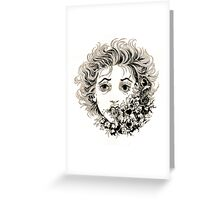 Speaking a Dead Language Greeting Card