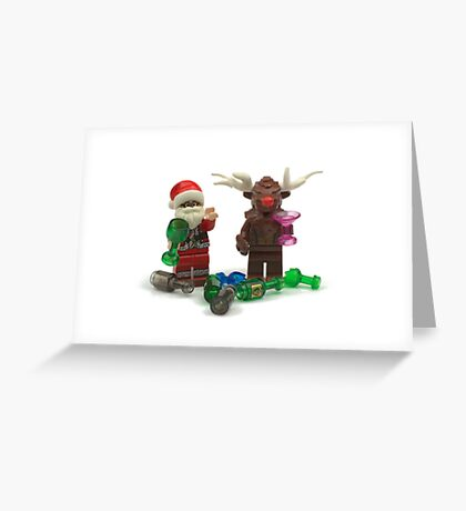 """Have A Very """"Merry"""" Christmas Greeting Card"""