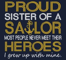 Proud sister of a sailor by sophiafashion