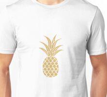 Gold Pineapple  Unisex T-Shirt
